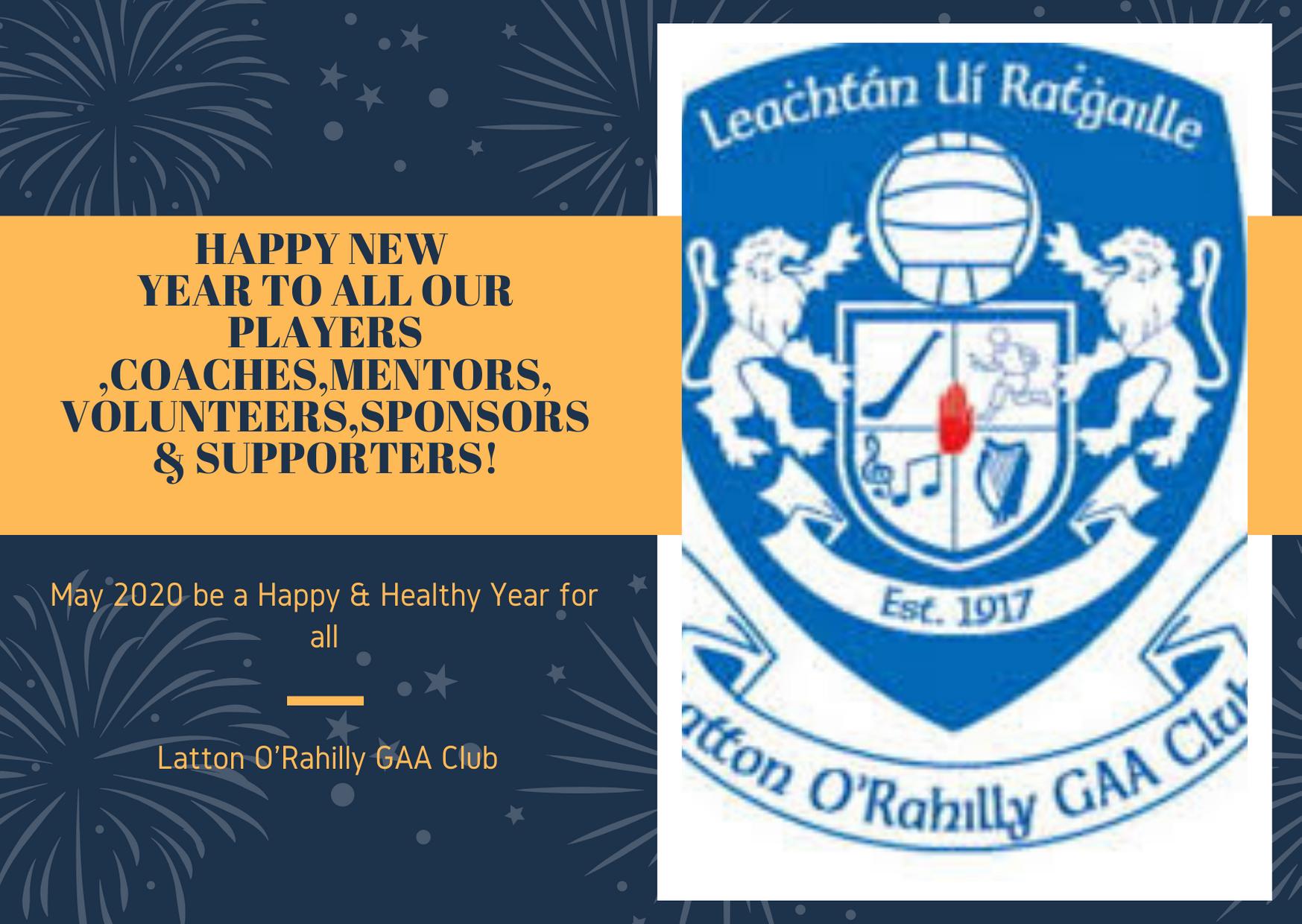 Latton Club Notes 6th January 2020